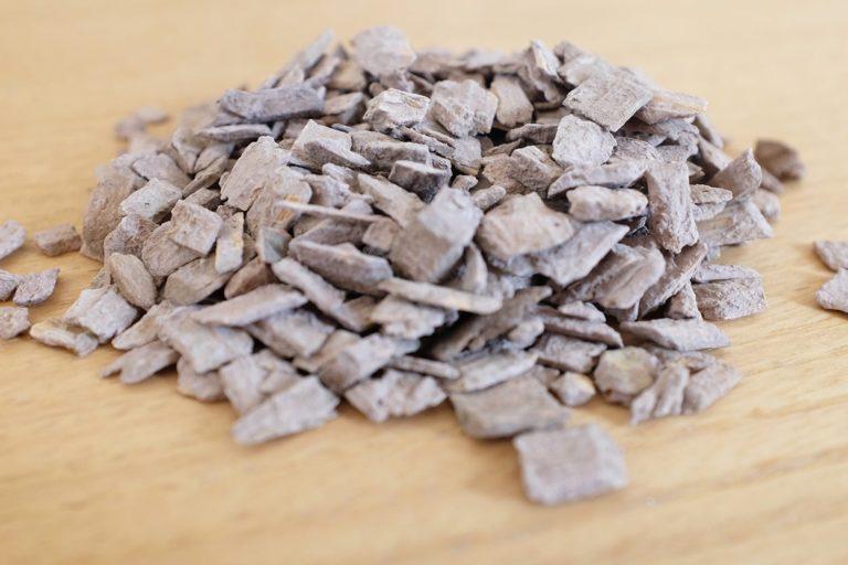 Cippato di legno mineralizzato